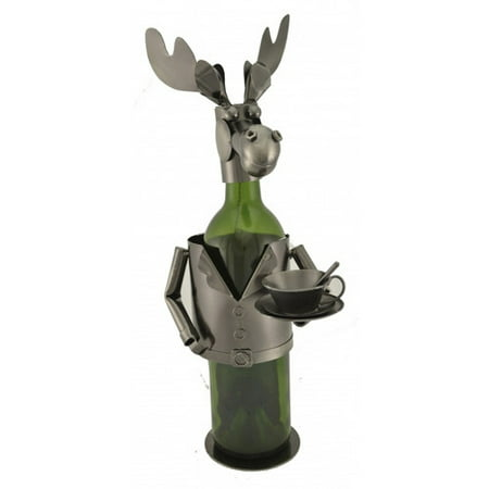 Three Star Im/Ex Inc. Moose Chef 1 Bottle Tabletop Wine Rack for $<!---->