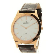 Croton CN307464RGDW Mens Brown Leather Slim Casual Watch