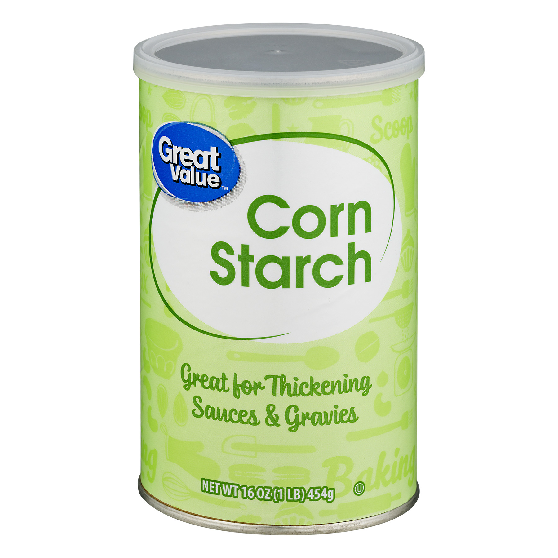 Great Value Corn Starch, 16 oz