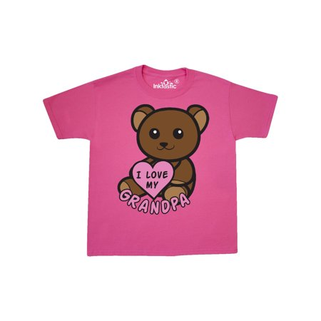 I Love My Grandpa Valentine's Bear Youth