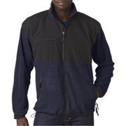 Weatherproof 4075 Adult Beacon Jacket, Navy & Black, Large