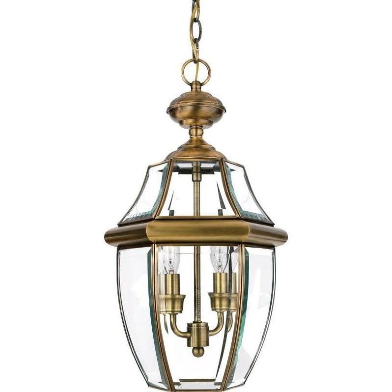 Atlin Designs Medium Hanging Lantern in Antique Brass - image 1 of 1