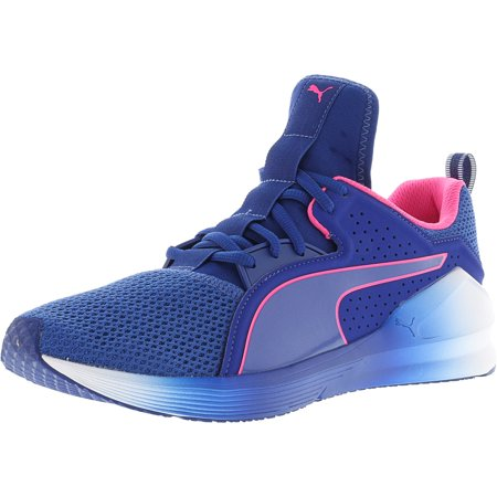 PUMA - Puma Women s Fierce Lace True Blue   Knockout Pink Ankle-High  Training Shoes - 10M - Walmart.com b37570ac4