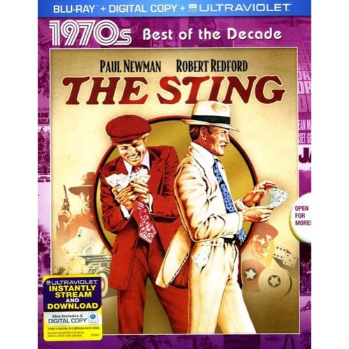 The Sting (1970s Best Of The Decade) (Blu-ray + Digital Copy + UltraViolet) (Widescreen)