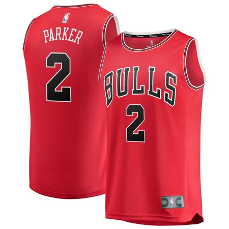 Jabari Parker Chicago Bulls Fanatics Branded Youth Fast Break Replica Jersey Red - Icon (Poker Jersey)
