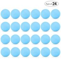 24Pcs Table Tennis Balls 3-Star Ping Pong Practice Training Ball Beer Pong