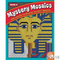 Mystery Mosaics Book 6 Draw And Coloring Book
