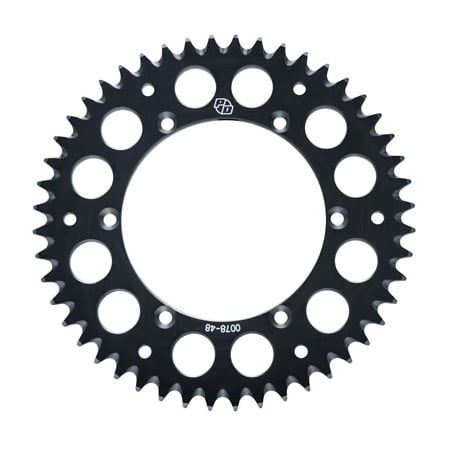 Aluminum Road Sprocket (Primary Drive Rear Aluminum Sprocket 36 Tooth Black for Yamaha YFZ450R 2009-2018 )