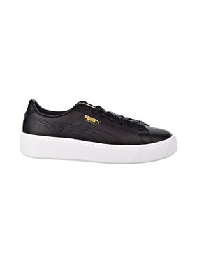 35913abd0d6 Product Image Puma Basket Platform Core Women s Shoes Puma Black Gold  364040-03