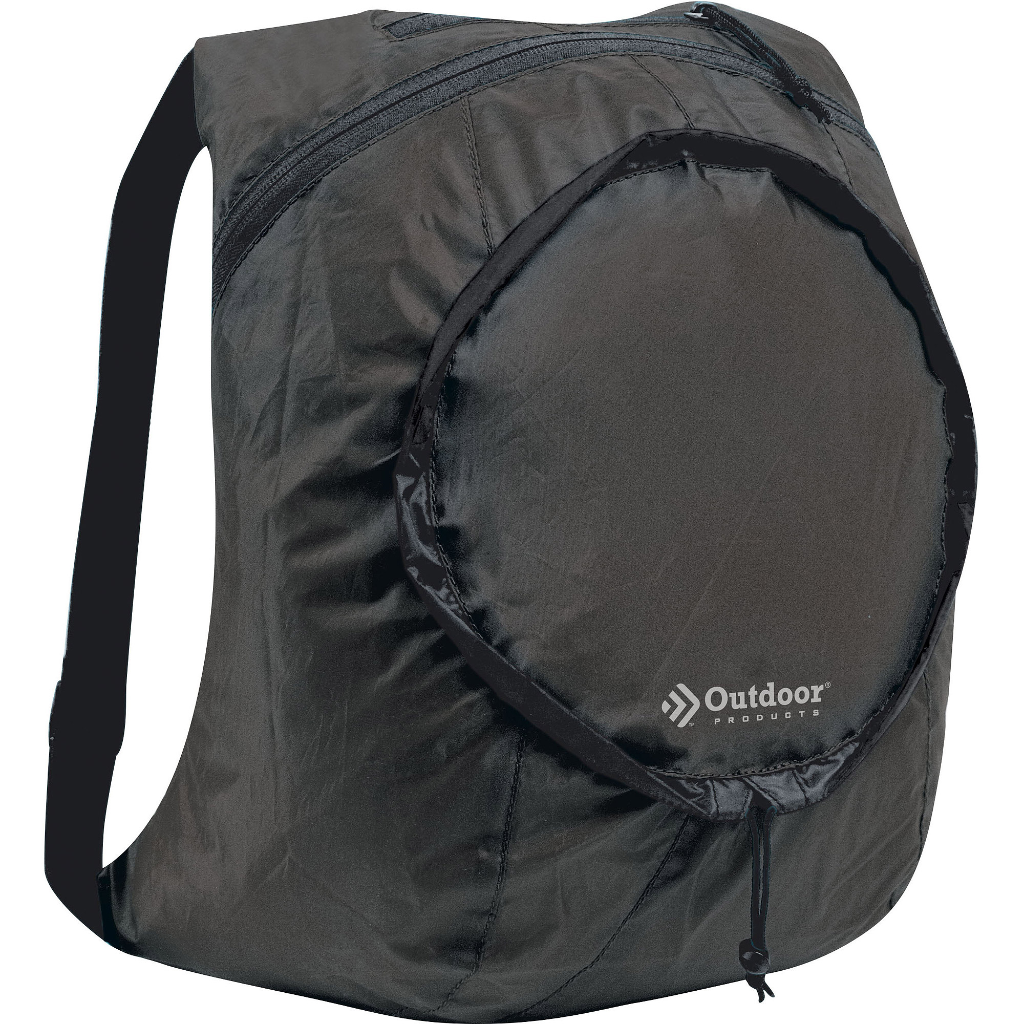 Outdoor Products Packable Daypack, Black