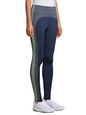 Avia Women's Active Performance Neon Stripe Leggings