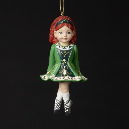 Kurt Adler Irish Girl Dancer Ornament