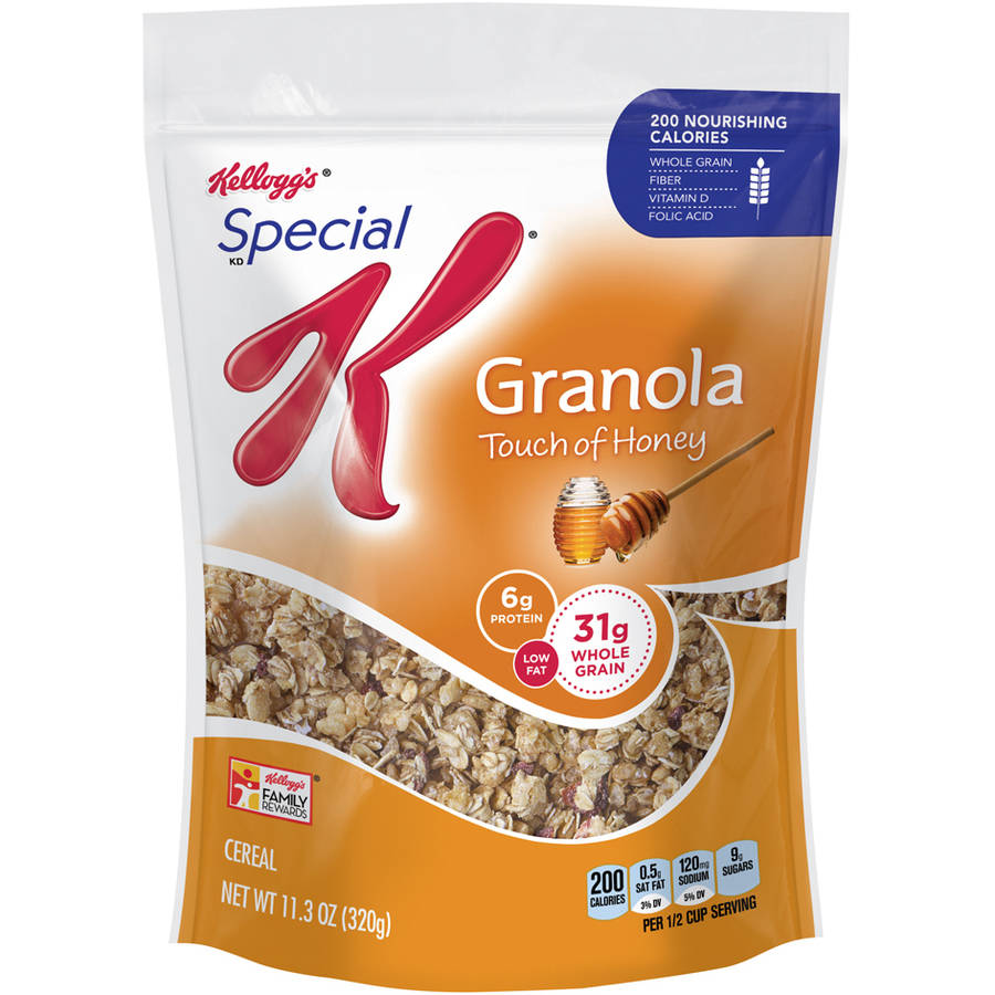Kellogg's Special K Touch of Honey Granola Cereal, 11.3 oz