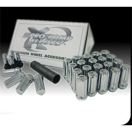 Pro Comp Alloy 11138B Lug Nut Kit (Prop Kit)