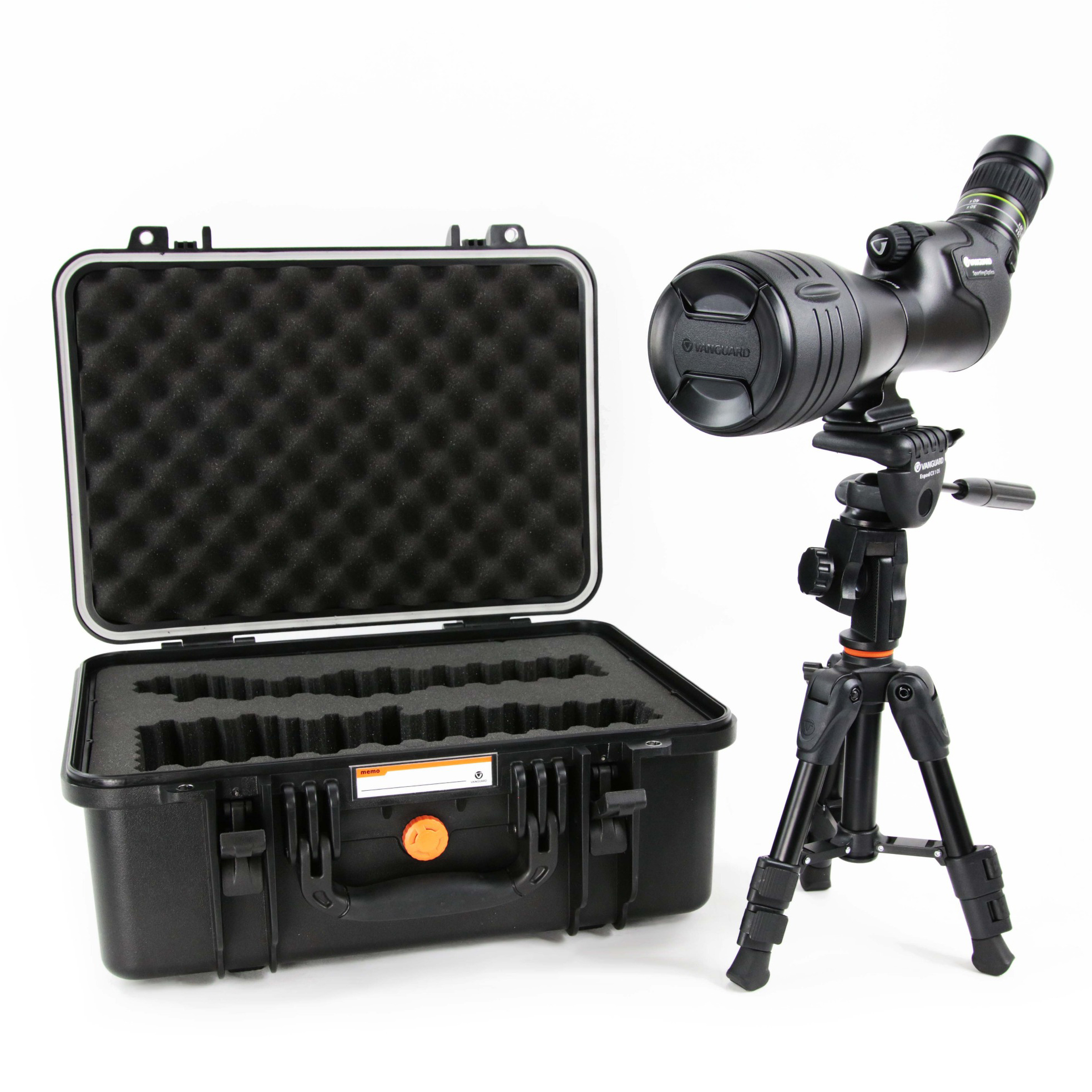 Vanguard Endeavor HD 82A 20-60 x 82 Spotting Scope with Bonus Tripod and Case