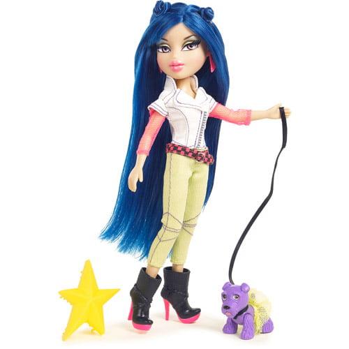 Bratz Neon Runway Jade Doll, Blue Black by MGA Entertainment