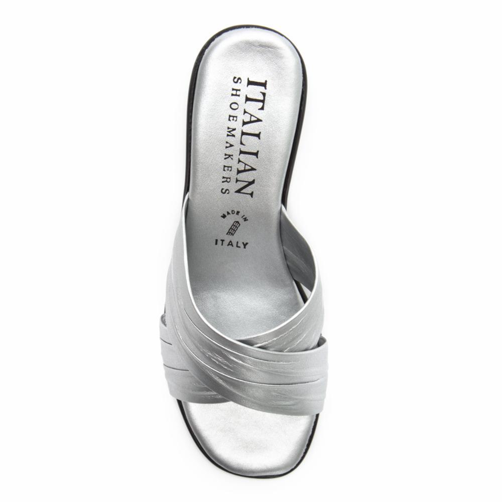 Italian Shoemakers Women's D168 Silver 8 M US - image 3 of 5