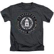 Stargate SG1 Nid Logo Little Boys Shirt