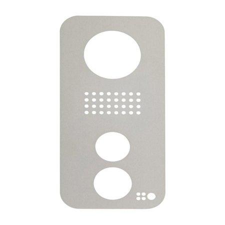 DoorBird Faceplate for D21xKV IP Video Door Station Brushed Stainless Steel - Vandal Door Station Stainless Steel
