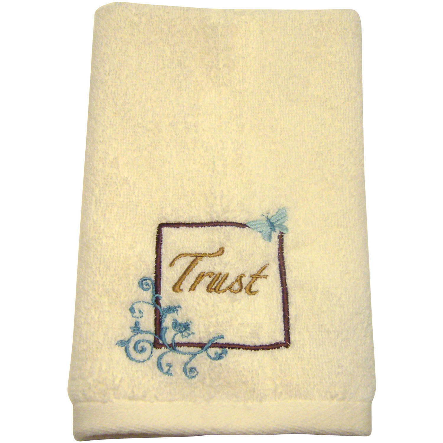 mainstays butterfly blessing decorative bath towel
