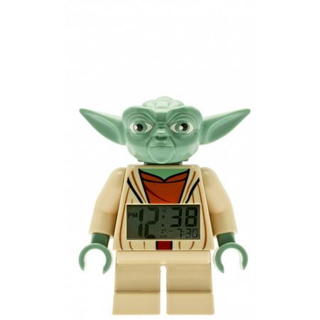 lego star wars yoda minifigure clock walmart com