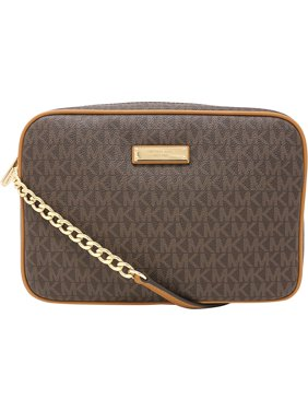 Product Image Women s Large Jet Set East West Crossbody Bag Leather Cross  Body - Brown. Michael Kors 09d0c83df4d21