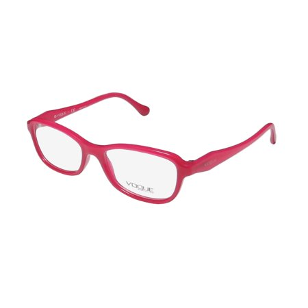 New Vogue 2958 Womens/Ladies Designer Full-Rim Magenta Colorful Signature Emblem In Style Frame Demo Lenses 51-16-140 Eyeglasses/Eye (Vouge Glasses)