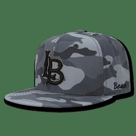 NCAA CSULB CSU Long Beach State 49ers California State Camouflage Caps -