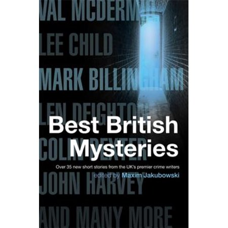 The Mammoth Book of Best British Mysteries -