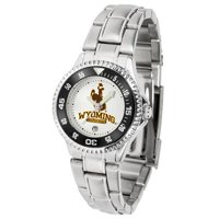 Suntime ST-CO3-WYC-COMPLM Wyoming Cowboys-Competitor Ladies Steel Watch