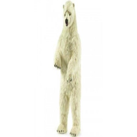 Life Size Standing Polar Bear Plush Stuffed Animal
