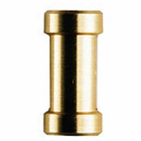 """Manfrotto 119 Short (16mm) Adapter Spigot with 1/4""""-20 & 3/8"""" Female Threads"""