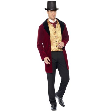 Edwardian Gent Adult Costume - Edwardian Halloween