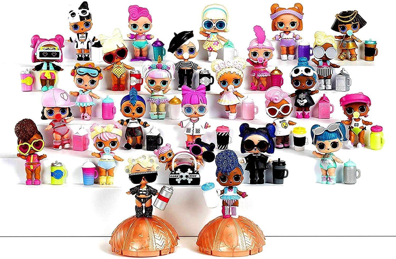 ❤️LOL Surprise SPF QT Swim Club Series 3 Wave 2 Big Sister Authentic Doll toy