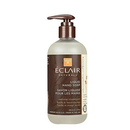 - Eclair Naturals Liquid Hand Soap - Vanilla and Sweet Orange - 12 Fl oz.