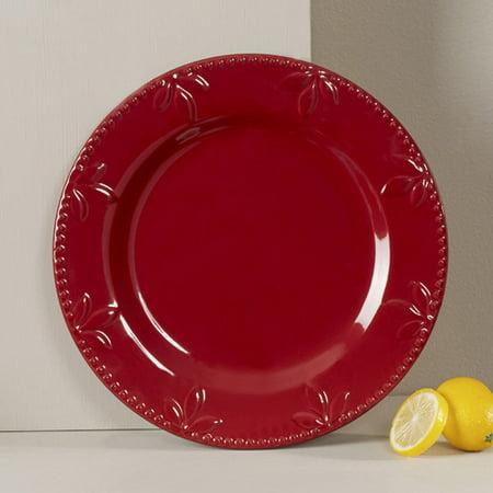 "Signature Housewares Sorrento Dinner Plate 11"" Ruby"