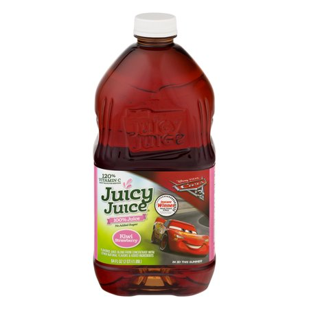 (2 Pack) Juicy Juice 100% Juice, Kiwi Strawberry, 64 Fl Oz, 1 (Best Strawberry Watermelon E Juice)