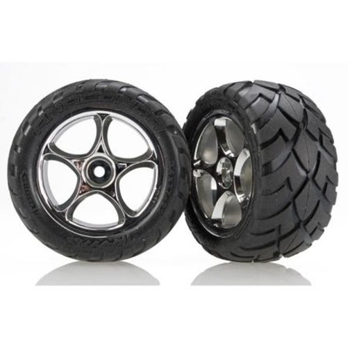 Traxxas 2478R Rear Anaconda 2.2 Tire & Wheel (2): Bandit Multi-Colored by TRAXXAS