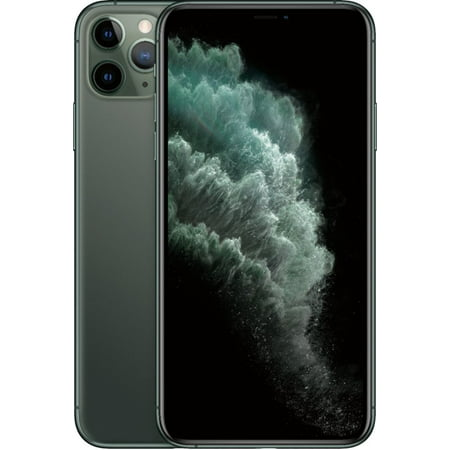 Refurbished Apple iPhone 11 Pro Max 256GB Midnight Green LTE Cellular T-Mobile MWFW2LL/A