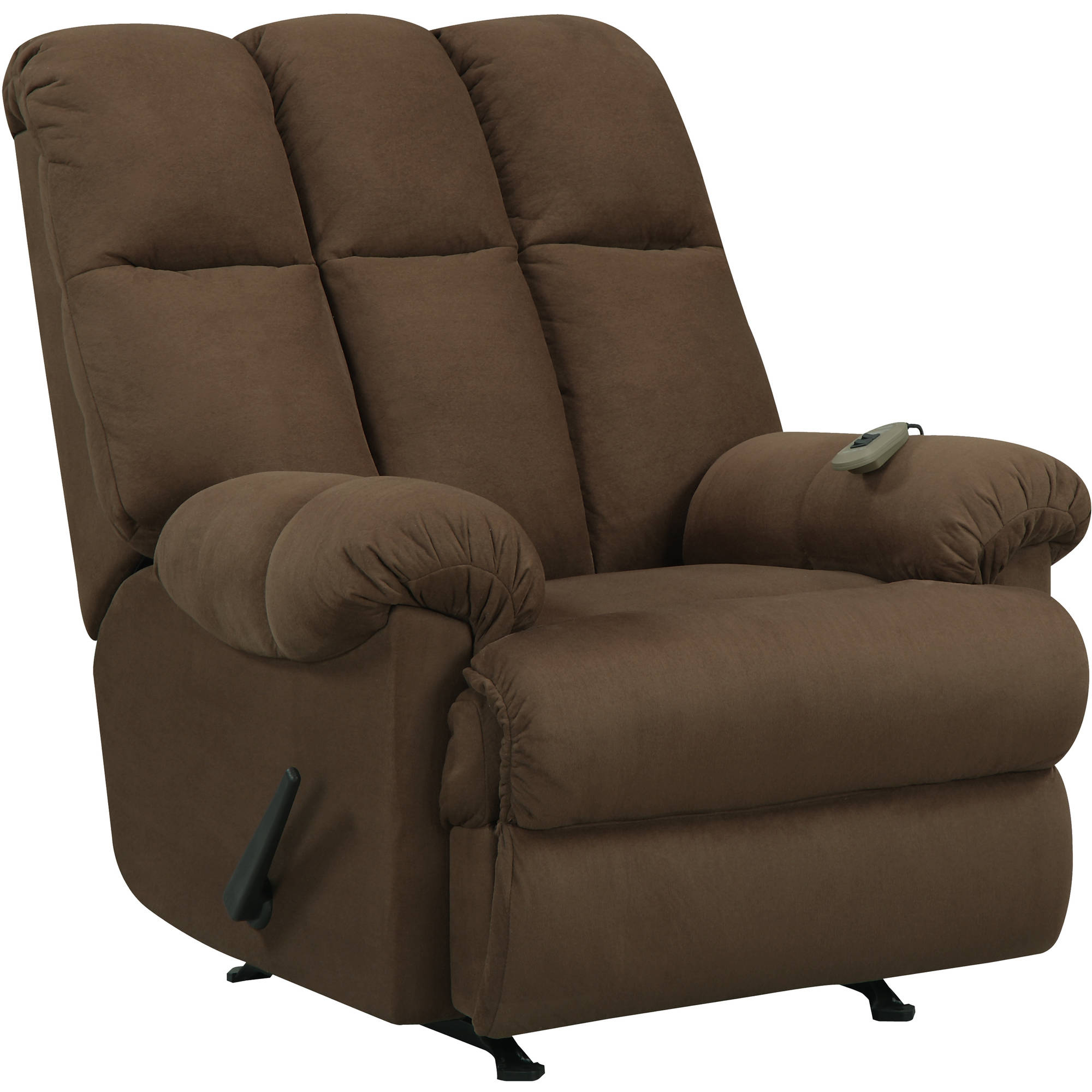 Dorel Living Padded Massage Rocker Recliner Multiple Colors - Walmart.com  sc 1 st  Walmart : model 7528 recliner - islam-shia.org