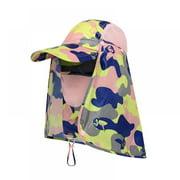 Dragonus Men Women Outdoor Sport Fishing Hiking Hat UV Protection Face Neck Flap Sun Cap