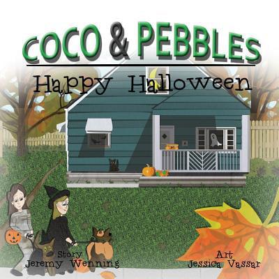 Football Kids Happy Halloween (Coco & Pebbles Happy)