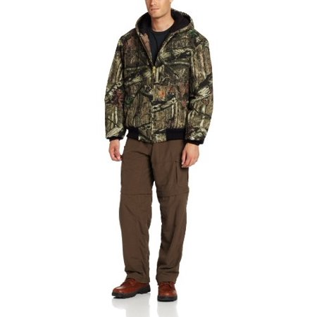 7cb1c9e72b87f Carhartt - Carhartt Men's Big & Tall Quilted Flannel Lined Camo Active  Jacket,Mossy Oak,X-Large Tall - Walmart.com
