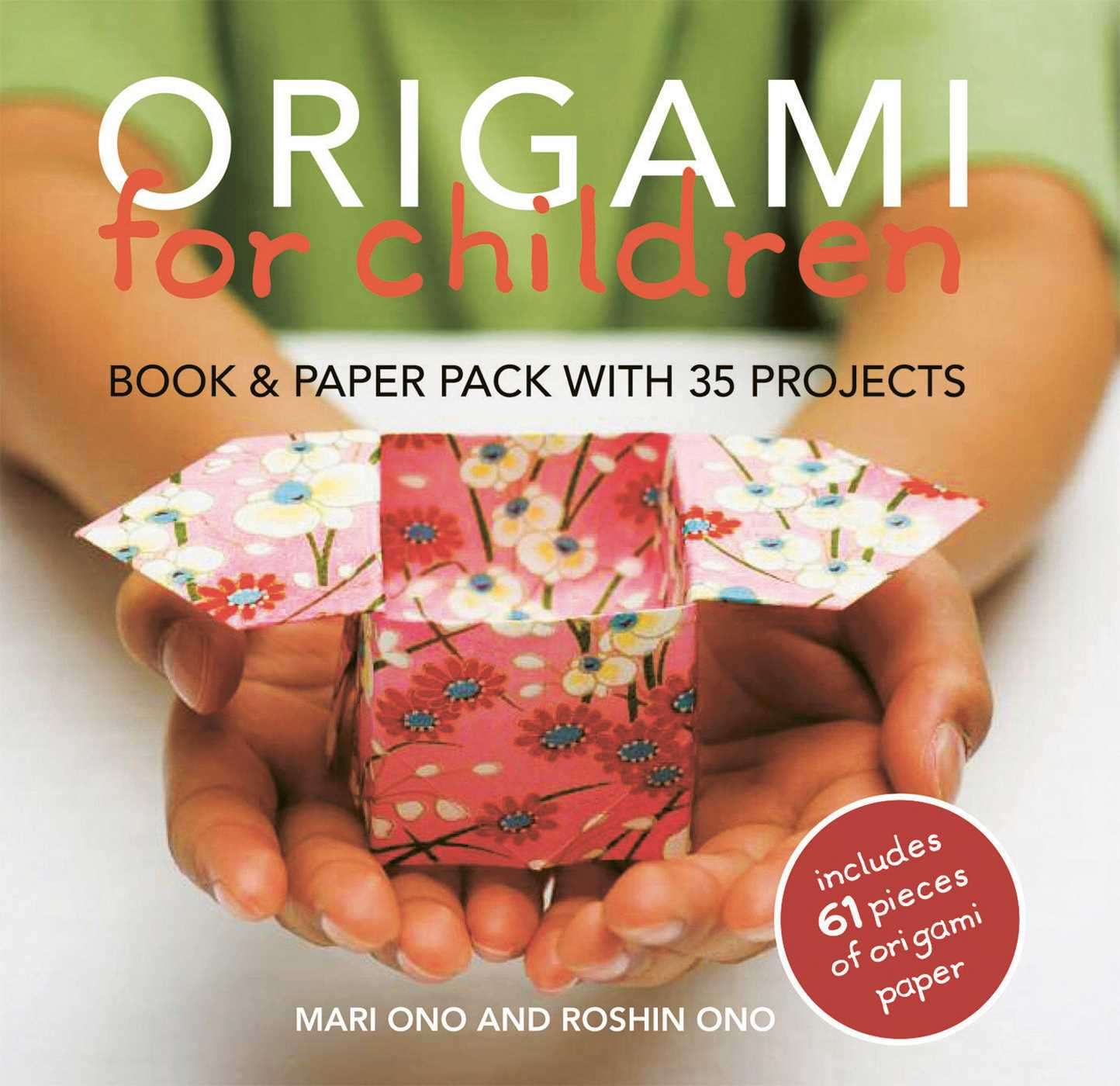 origami for children book amp paper pack with 35 projects