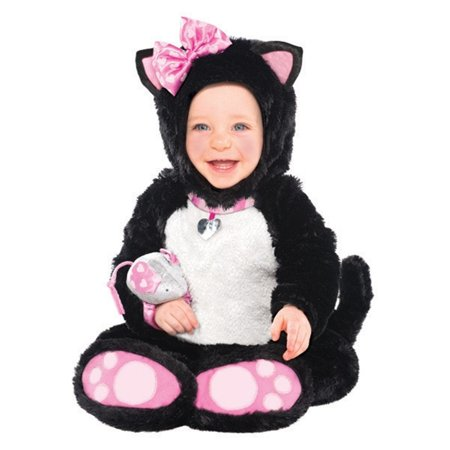 Itty Bitty Kitty Costume Mouse Rattle Infant 12-24 Months Costumes USA