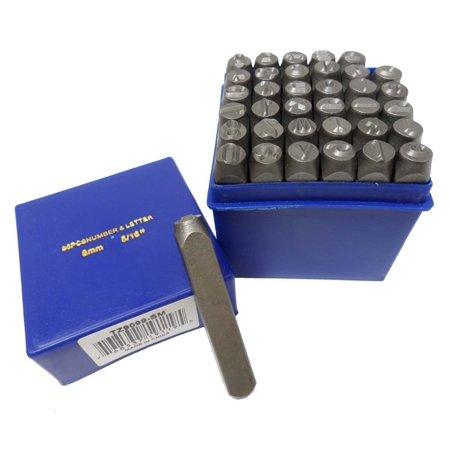 Letter Punch Set - Hawk Number & Letter (lower Case) Punch Set 36 Pc (8mm 5/16