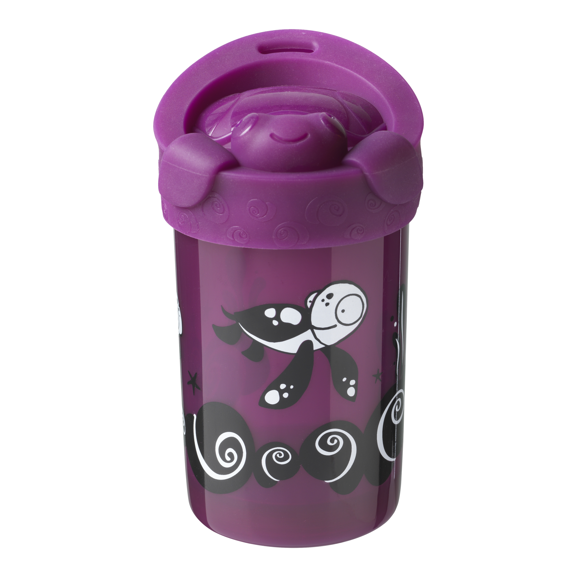 Tommee Tippee No Knock Toddler Cup with Lid 1pk 18+ Months Gecko
