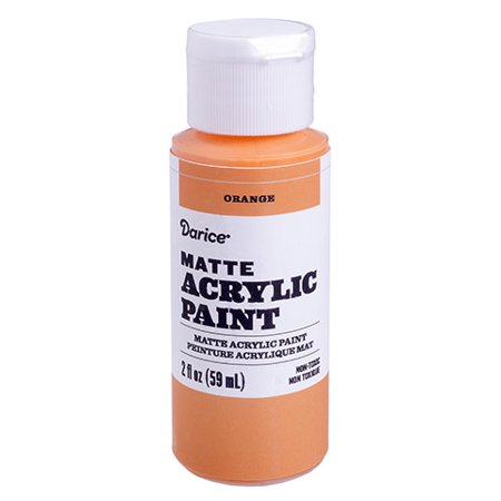 Use this matte acrylic paint for your various project needs. It dries quickly and covers smoothly, so you can layer on colors with ease. - Halloween Paint Art Projects