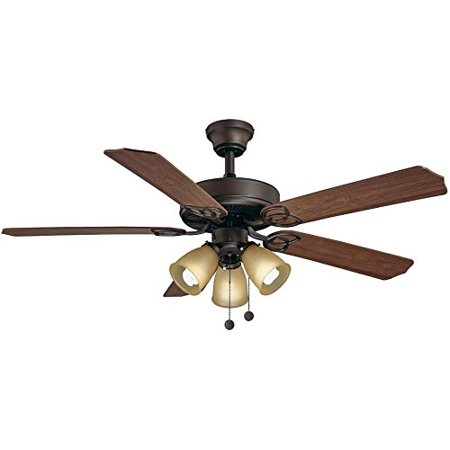 Hampton Bay Brookhurst 52 In Indoor Brushed Nickel Ceiling Fan