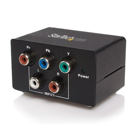 StarTech Component to VGA Video Converter with Audio - VGA
